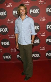 Eric Christian Olsen at the Fox Fall Eco-Casino Party.