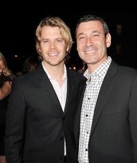 Eric Christian Olsen and producer Peter Jaysen at the premiere of