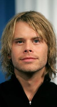Eric Christian Olsen at the press conference of