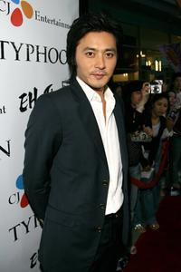 Jang Dong-gun at the premiere of