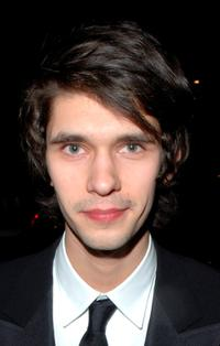 Ben Whishaw at the Pathe and Miramax BAFTA after show party.
