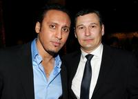 Aasif Mandvi and Nick Damici at the opening night afterparty of
