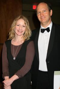 Paula Malcomson and Guest at the cocktail party during the 34th AFI Life Achievement Award.