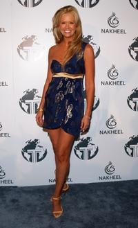 Nancy O'Dell at the Nakheel Introduces Trump International Hotel and Tower Dubai party.