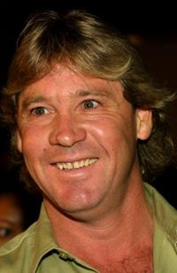 Steve Irwin at the Los Angeles premiere of