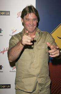 Steve Irwin at the Penfolds Icon Gala.