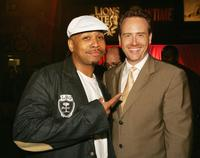 Omar Gooding and Showtime's President of Entertainment Robert Greenblatt at the after party of the premiere of