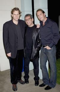 Al Corley, Rodney Vaccaro and Marcus Thomas at the screening of
