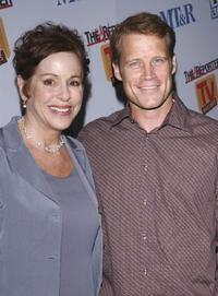 Louise Sorel and Mark Valley at the Museum of Television and Radio Cocktail Party.