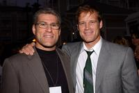 Jeffery Glaser and Mark Valley at the Twentieth Century Fox Television's New Season Party.