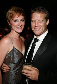 Mark Valley and guest at the 2006 Creative Arts Awards.