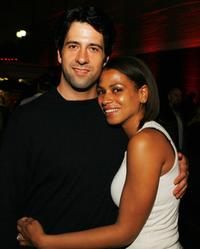 Troy Garity and Simone Bent at the afterparty of the premiere of