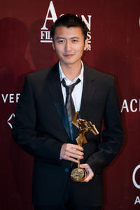 Nicholas Tse at the 4th Asian Film Awards in Hong Kong.