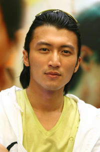 Nicholas Tse at the Promotional Activities of Martial Arts TV Series
