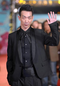 Sam Lee at the 43rd Golden Horse Film Awards in Taipei.