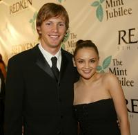 Kip Pardue and Rachael Leigh Cook at the 6th Annual Mint Jubilee.