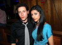 Paulo Costanzo and Reshma Shetty at the Hamptons and Gotham Magazine's Summer Celebration.