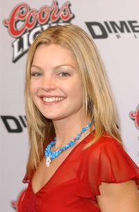 Clare Kramer at the premiere of