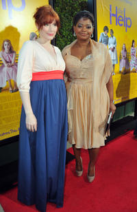 Bryce Dallas Howard and Octavia L. Spencer at the California premiere of