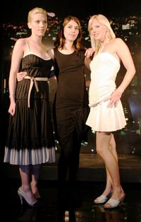 Scarlett Johansson, Sofia Coppola and Anna Faris at the