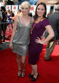 Anna Faris and Hannah Minghella at the California premiere of
