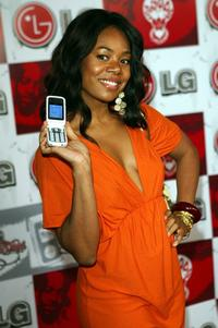 Regina Hall at the LG and Jermaine Dupris Fusic Party.