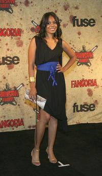 Regina Hall at the Fuse Fangoria Chainsaw Awards.