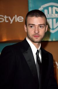Justin Timberlake at the In Style Magazine and Warner Bros. Studios Golden Globe After Party.