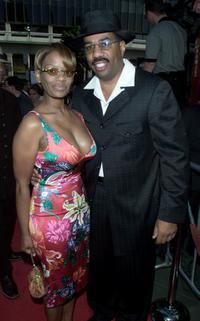 Mary and Steve Harvey at the premiere of