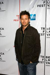 Matthew Davis at the premiere of
