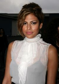 Eva Mendes at the 2007/8 Chanel Cruise Show.