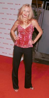 Jessica Cauffiel at the Maxim Magazine's Hot 100 party.