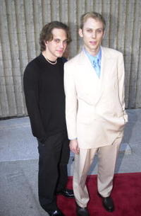 Tom Sadoski and Jimmi Simpson at the premiere of