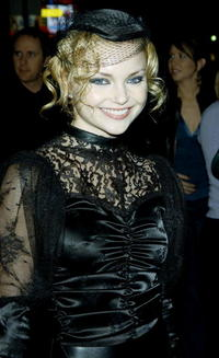 "Izabella Miko at the premiere of ""Deadwood"" in Hollywood, California."