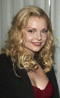 Izabella Miko at the Los Angeles Confidential Pre-Oscar party in Los Angeles, California.