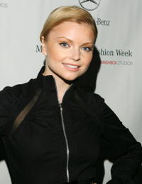 Izabella Miko at the Smashbox Studios in Culver City, California.