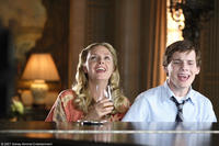 Hope Davis and Anton Yelchin in