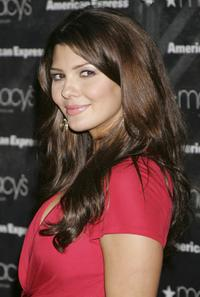 Ali Landry at the Macys Passport auction and fashion show in celebration of its 25th Anniversary.