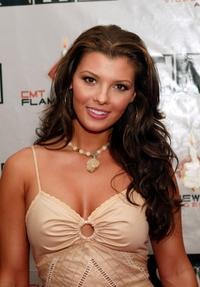Ali Landry at the first ever CMT Flameworthy Video Music Awards.