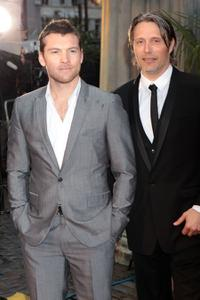 Sam Worthington and Mads Mikkelsen at the London premiere of