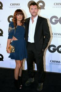 Natalie Mark and Sam Worthington at the 2009 GQ Men Of The Year Awards.