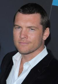 Sam Worthington at the Los Angeles premiere of