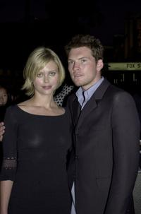 Sophie Lee and Sam Worthington at the Australian premiere of
