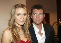 Sam Worthington and Mave Dermody at the Hollywood Nights Charity Dinner.