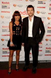 Natalie Mark and Sam Worthington at the 2009 Kodak Inside Film Awards.