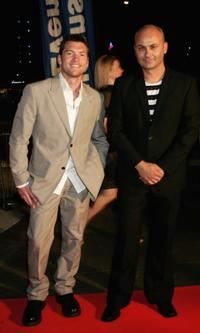 Sam Worthington and Steve Bastoni at the 2006 Hisense Inside Film Awards.