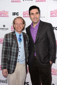 Bruce Cohen and Jonathan Gordon at the 2013 Film Independent Spirit Awards.