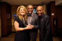 Victoria Clark, Colman Domingo and Forrest McClendon at the 65th Annual Tony Awards in New York.