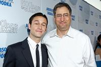 Joseph Gordon-Levitt and Tom Rothman at the premiere of