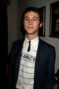 Joseph Gordon-Levitt at the after party of the New York premiere of